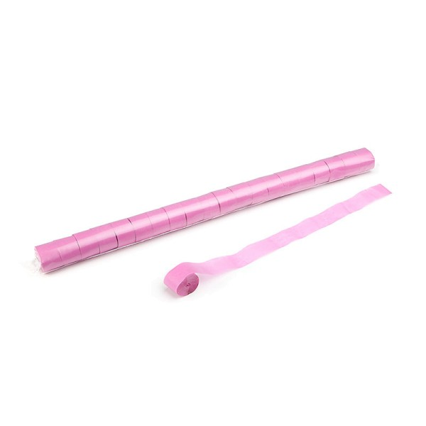Luftschlangen/Streamer Pink, 25mm, 20m