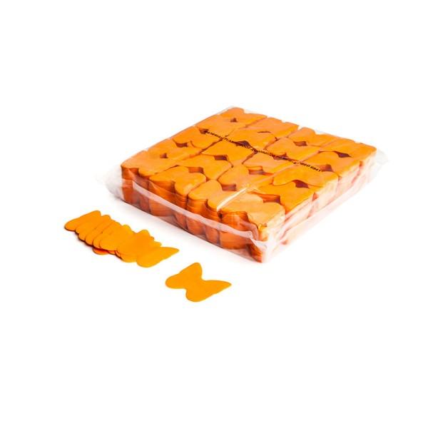 »slowfall« Konfetti Orange, Schmetterling Ø 55mm, 1kg