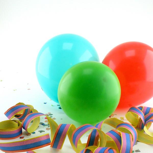 10 Luftballons, bunt - 10er Beutel