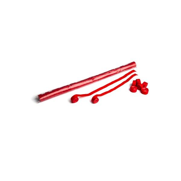 Luftschlangen/Streamer Rot, 15mm, 10m