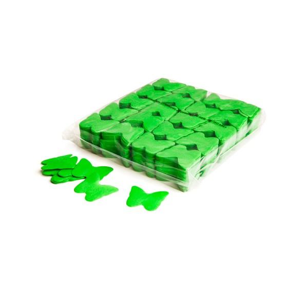 »slowfall« Konfetti Hellgrün, Schmetterling Ø 55mm, 1kg