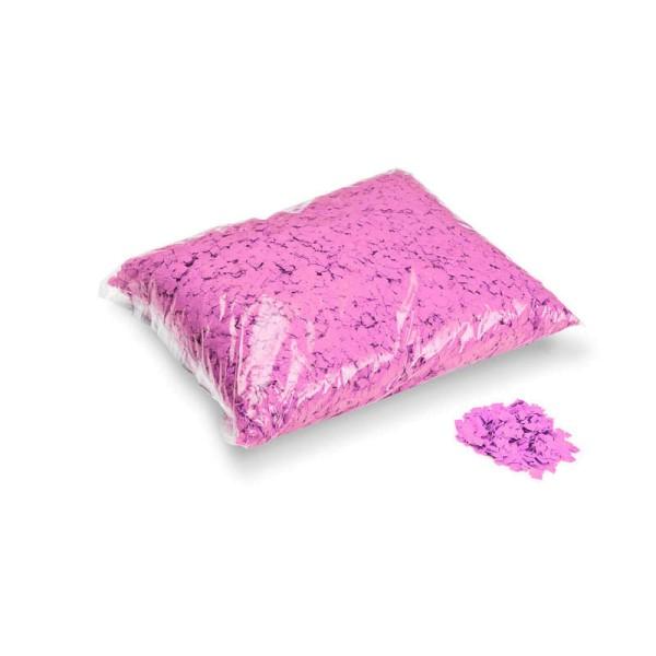 »slowfall« Konfetti Pink, Pulver 6x6mm, 1kg