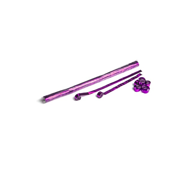 Luftschlangen/Streamer Pink (metallic), 15mm, 10m