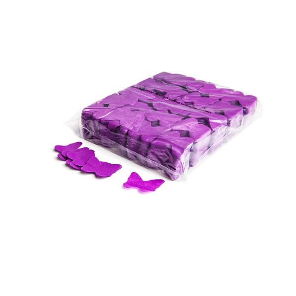 »slowfall« Konfetti Lila, Schmetterling Ø 55mm, 1kg
