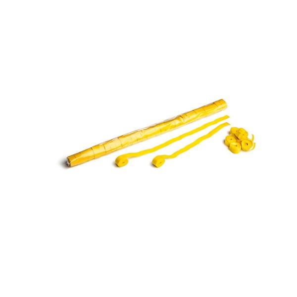 Luftschlangen/Streamer Gelb, 15mm, 10m