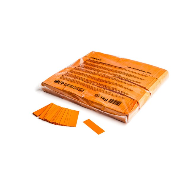 »slowfall« Konfetti Orange, 55x17mm, 1kg