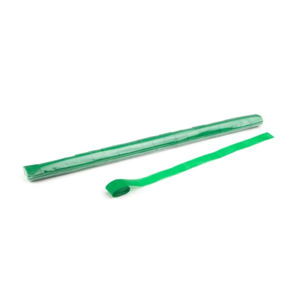 Luftschlangen/Streamer Grün, 25mm, 10m