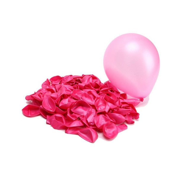 10 Luftballons, Rosa - 10er Beutel