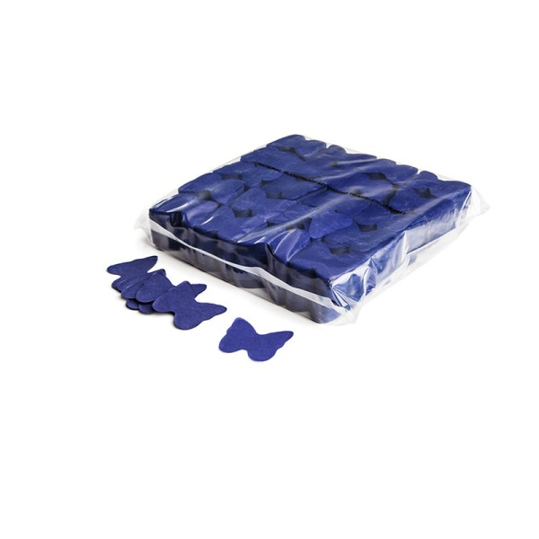 »slowfall« Konfetti Blau, Schmetterling Ø 55mm, 1kg