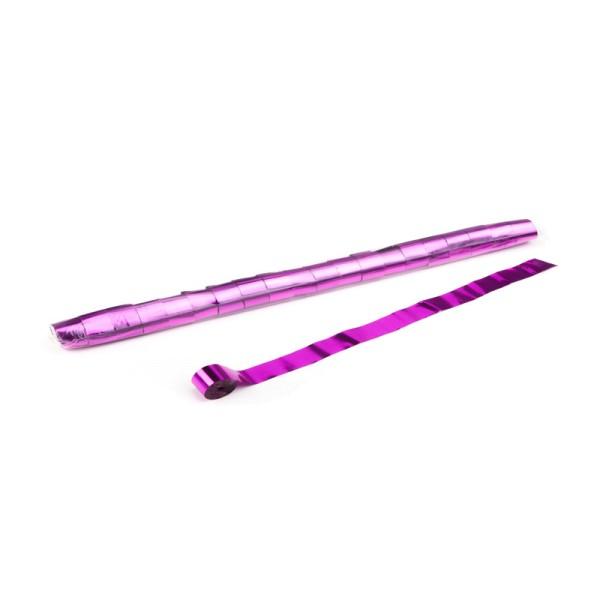Luftschlangen/Streamer Pink (metallic), 25mm, 10m