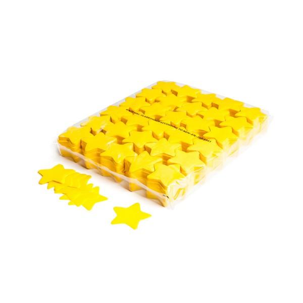 »slowfall« Konfetti Gelb, Stern Ø 55mm, 1kg