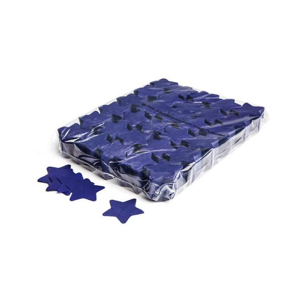 »slowfall« Konfetti Blau, Stern Ø 55mm, 1kg