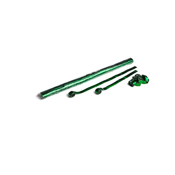 Luftschlangen/Streamer Grün (metallic), 15mm, 10m
