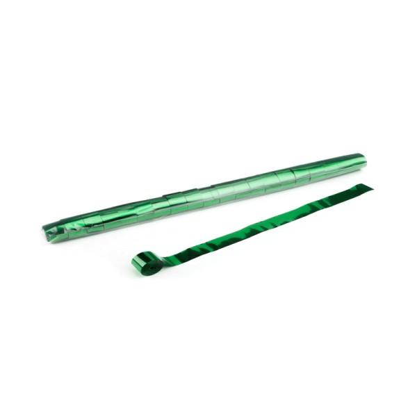 Luftschlangen/Streamer Grün (metallic), 25mm, 10m