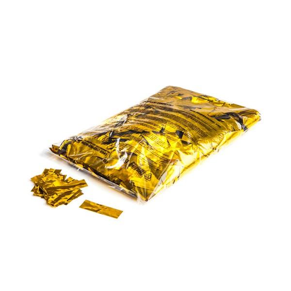»slowfall« Konfetti Gold (metallic), 55x17mm, 1kg