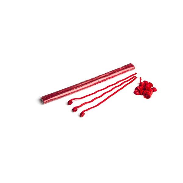Luftschlangen/Streamer Rot, 8,5mm, 5m
