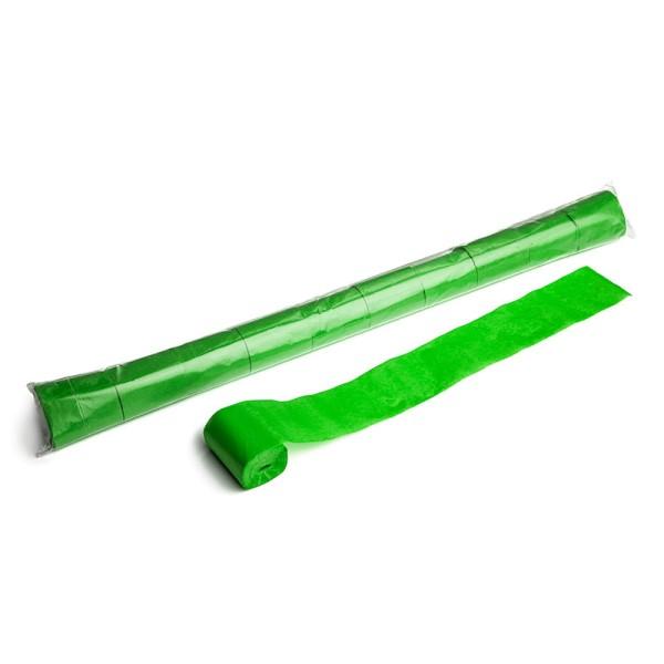 Luftschlangen/Streamer Hellgrün, 50mm, 20m