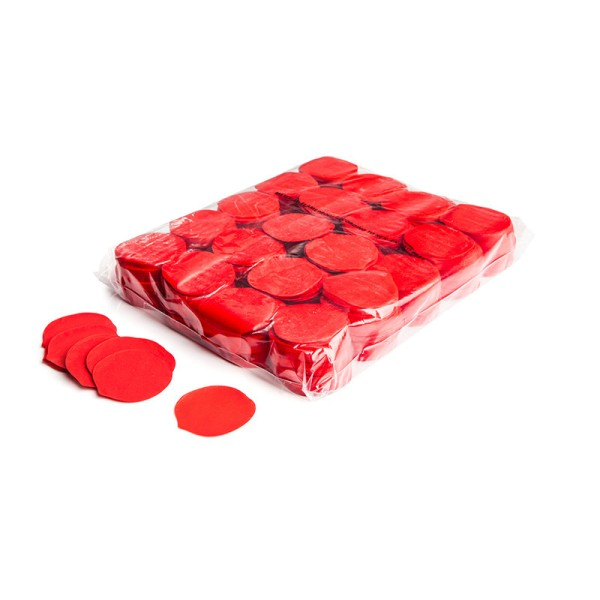 »slowfall« Konfetti Rote Rosenblätter, Ø 55mm, 1kg
