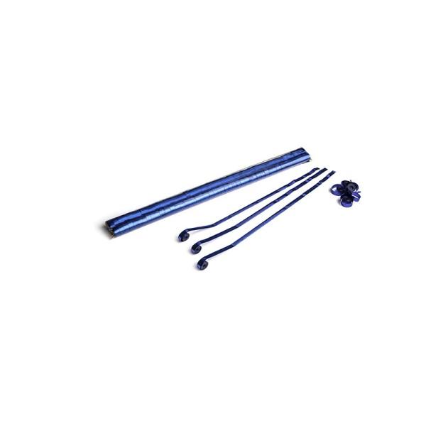 Luftschlangen/Streamer Blau (metallic), 8,5mm, 5m
