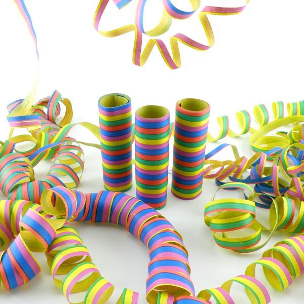 1.800 Luftschlangen, schwer entflammbar, 4m, 5 Farben im Display – 100x 18 Ringe