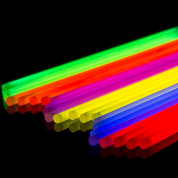 25 Armknicklichter inkl. Verbinder, bunt - 25er Rolle