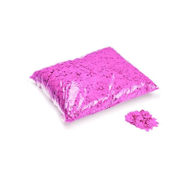 »slowfall« Konfetti Neon Pink, Pulver 6x6mm, 1kg