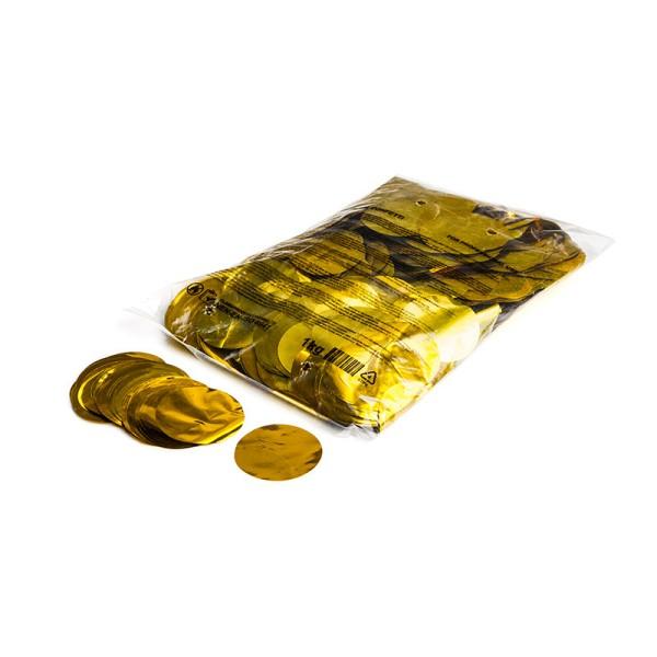 »slowfall« Konfetti Gold (metallic), Rund Ø 55mm, 1kg