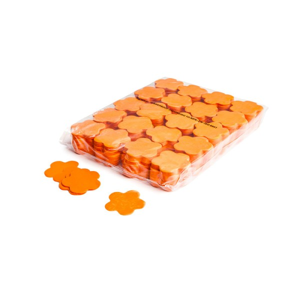 »slowfall« Konfetti Orange, Blume Ø 55mm, 1kg