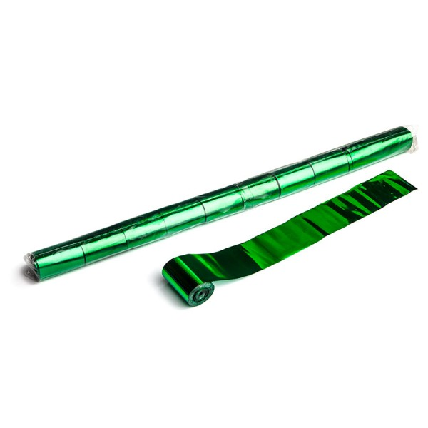 Luftschlangen/Streamer Grün (metallic), 50mm, 20m