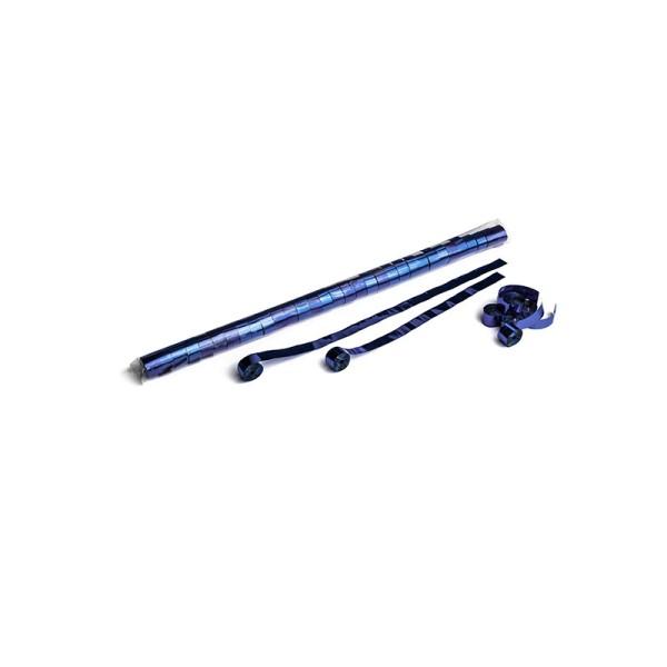 Luftschlangen/Streamer Blau (metallic), 15mm, 10m