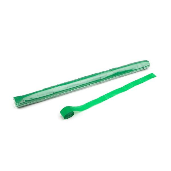 Luftschlangen/Streamer Grün, 25mm, 20m