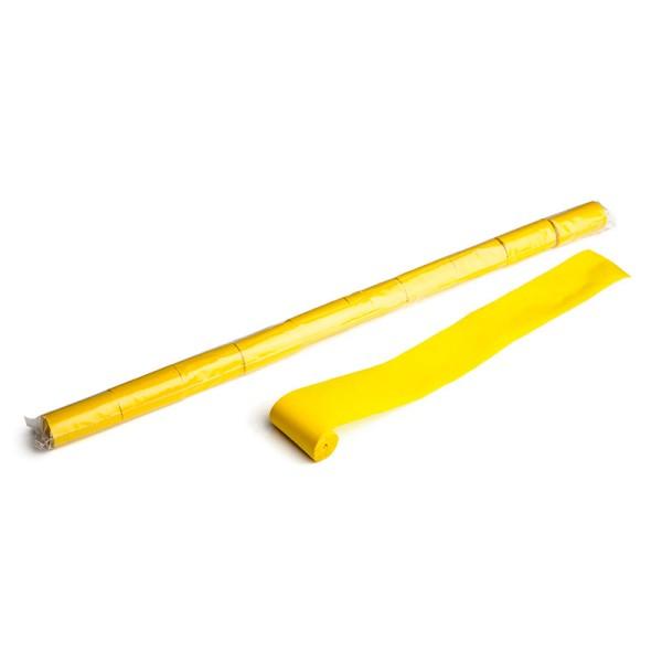 Luftschlangen/Streamer Gelb, 50mm, 10m