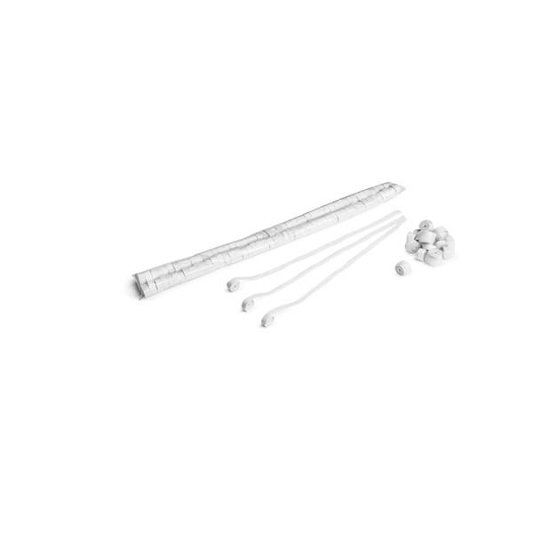 Luftschlangen/Streamer Weiß, 8,5mm, 5m