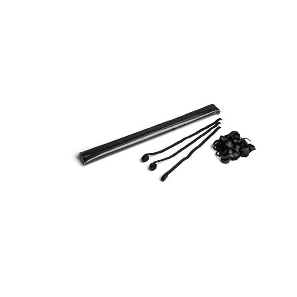 Luftschlangen/Streamer Schwarz, 8,5mm, 5m