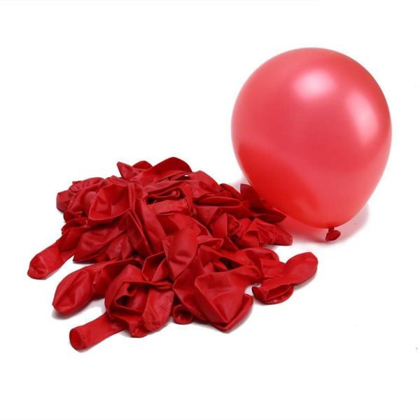 10 Luftballons, Rot - 10er Beutel