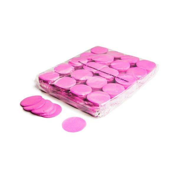 »slowfall« Konfetti Pink, Rund Ø 55mm, 1kg