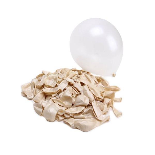 10 Luftballons, Creme - 10er Beutel