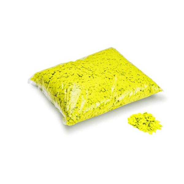 »slowfall« Konfetti Neon Gelb, Pulver 6x6mm, 1kg