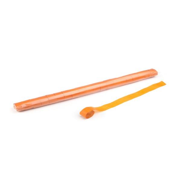 Luftschlangen/Streamer Orange, 25mm, 10m