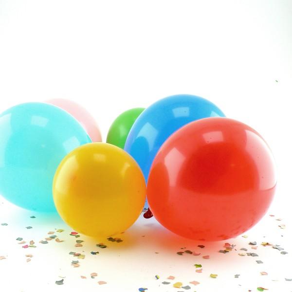 30 Luftballons, bunt - 3x 10er Beutel