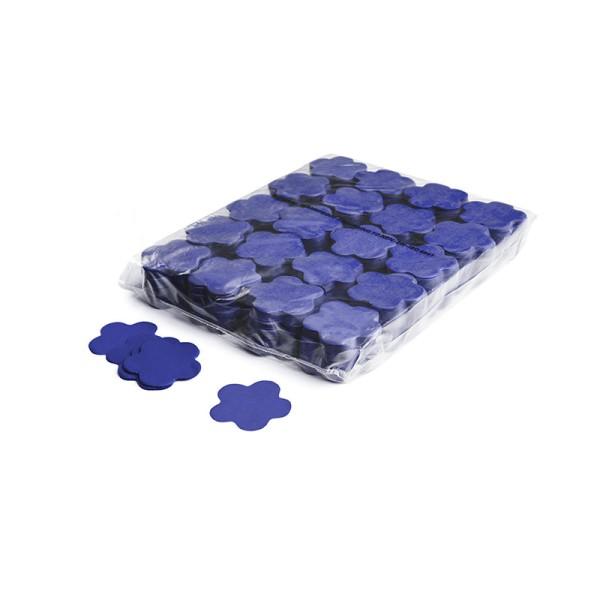 »slowfall« Konfetti Blau, Blume Ø 55mm, 1kg