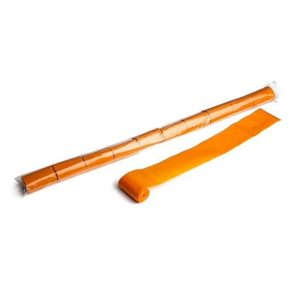 Luftschlangen/Streamer Orange, 50mm, 10m