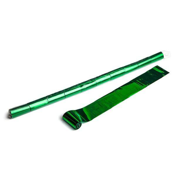 Luftschlangen/Streamer Grün (metallic), 50mm, 10m