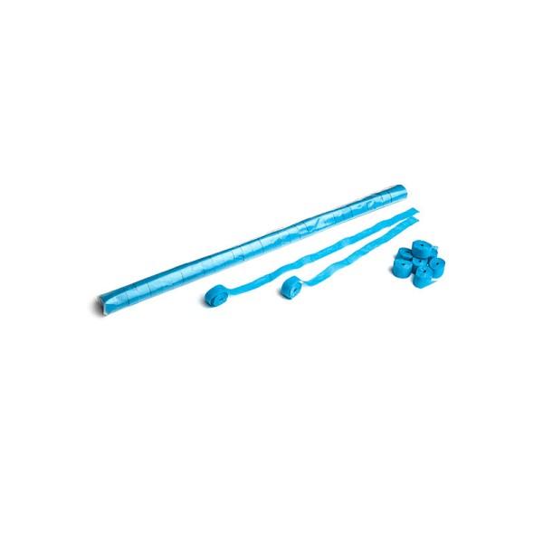 Luftschlangen/Streamer Hellblau, 15mm, 10m