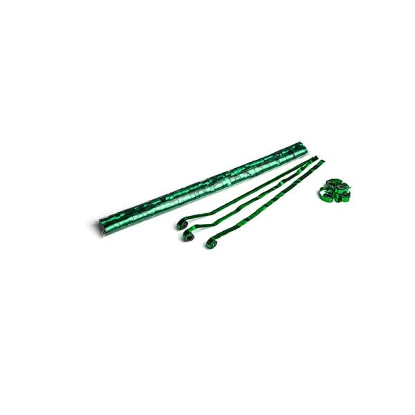 Luftschlangen/Streamer Grün (metallic), 8,5mm, 5m