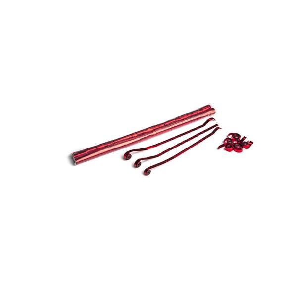 Luftschlangen/Streamer Rot (metallic), 8,5mm, 5m