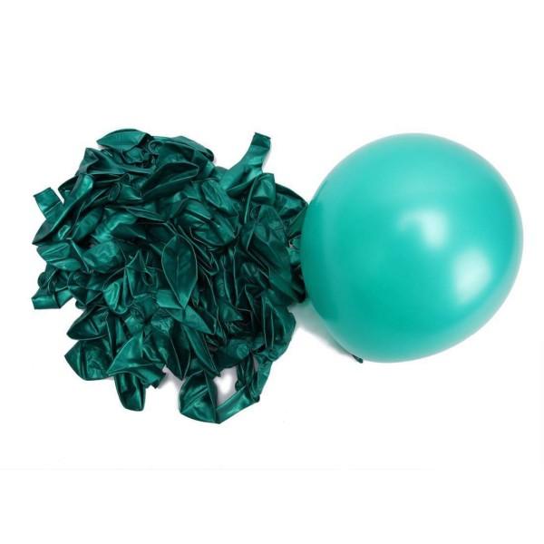 10 Luftballons, Grün - 10er Beutel
