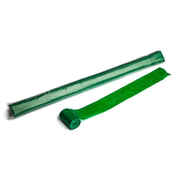 Luftschlangen/Streamer Grün, 50mm, 20m