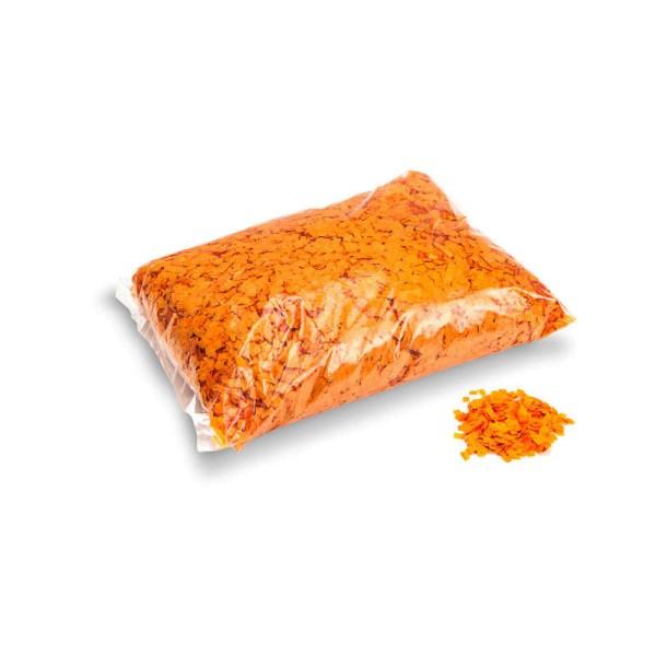 »slowfall« Konfetti Orange, Pulver 6x6mm, 1kg
