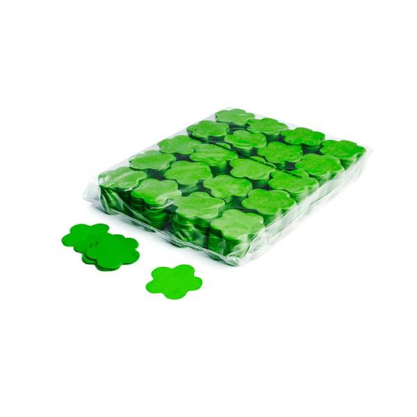 »slowfall« Konfetti Hellgrün, Blume Ø 55mm, 1kg